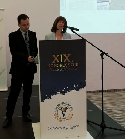 Sabine Trier at VSZ Congress