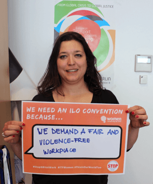 ETF AGS Livia Spera supports ILO Convention
