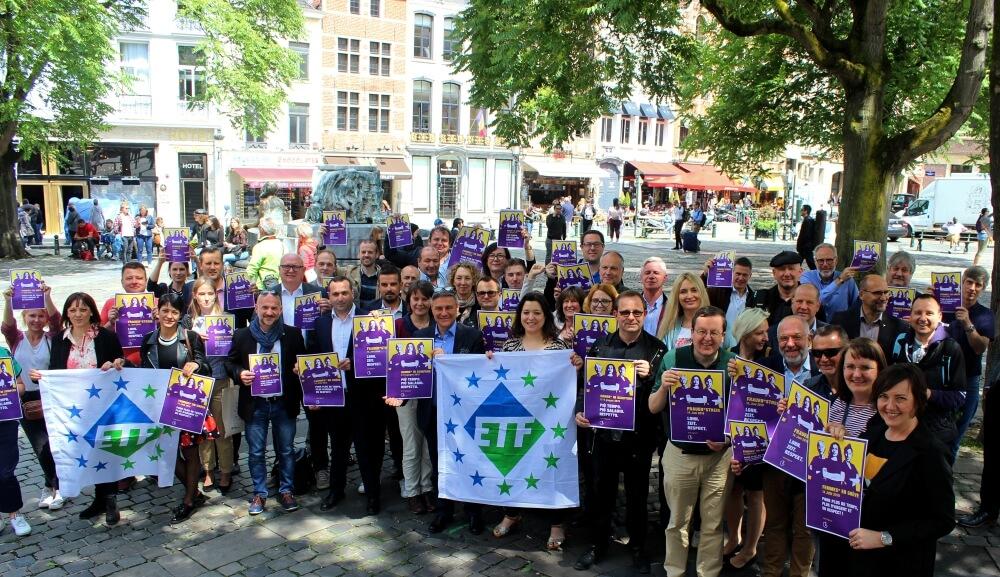 ETF Supports Swiss Women's Strike on 14 June 2019