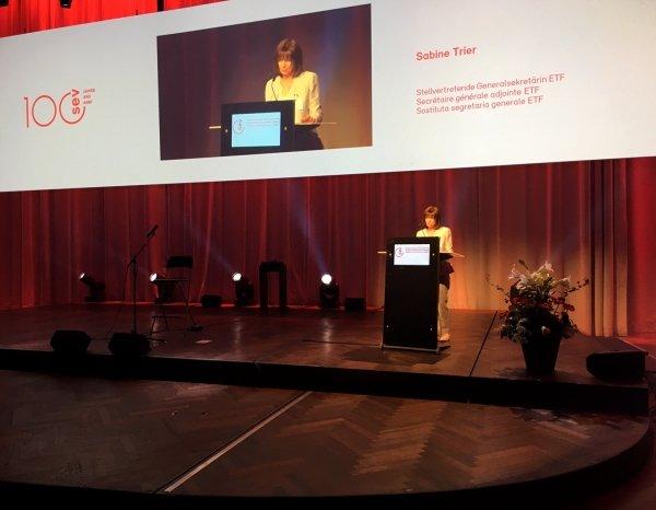 Sabine Trier at SEV100